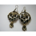 Black Cambodian Earrings