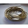 Multi Gold Bangle