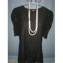 Black Laced Blouse