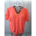 2 in 1 Peach Blouse