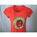Red Starbucks T-shirt